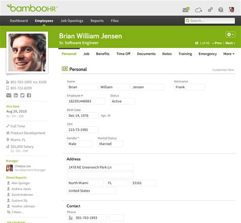 Hr And Talent Management Resource Library Bamboohr Hrms Web Templates
