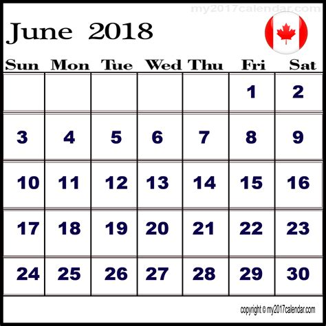 free calendar templates 2014 canada june 2018 calendar canada calendar yearly printable