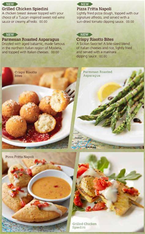 olive garden is reducing discounted plates business insider olive garden menu asparagus fasci garden