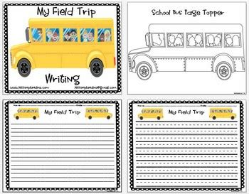 Excursion Trip Essay by Free Field Trip Writing Pack By The Lesson Plan Tpt