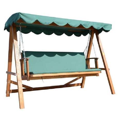 balancelle balan 231 oire banc fauteuil de jardin en b achat vente balancelle balancelle