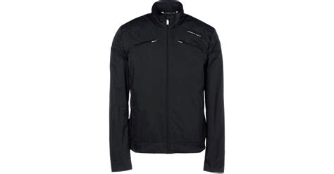 porsche design clothes uk porsche design jacket in black for men lyst