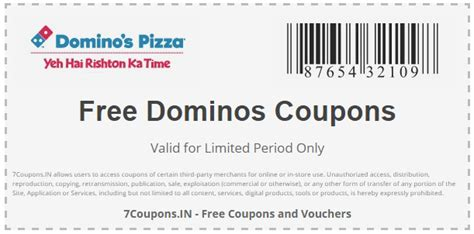 dominos coupons  offers  february  couponsin
