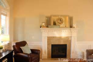 Livingroom Paint Color by Starting The Living Room Project Meadow Lake Road