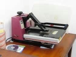 Mesin Heat Press cara sablon kaos dengan cat rubber