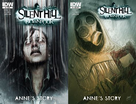 shattered ornaments a horror tale books 187 silent hill downpour anne s story 1 comic review