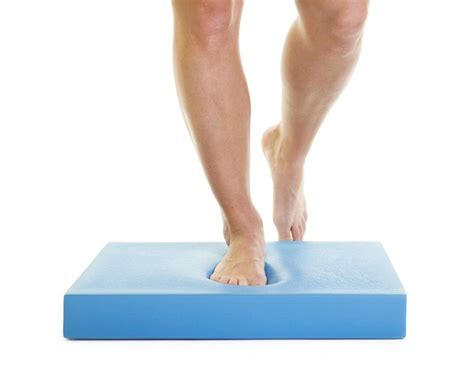 physical therapy balance mat single leg stance exercise for better balance