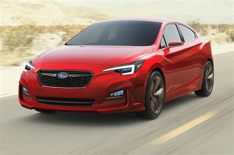 subaru impreza 2018 sedan 2017 subaru impreza teased ahead of new york debut motor