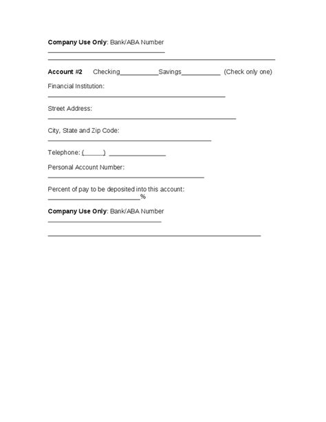 credit card authority form template