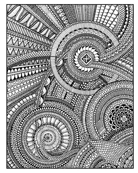 mandala coloring pages expert level between the lines an expert level coloring book peter