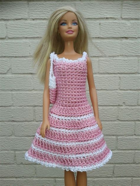 pattern clothes doll lyn s dolls clothes barbie crochet dresses and bag