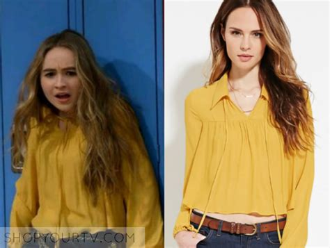 Blouse Sabrina 1 meets world season 3 episode 1 maya s yellow blouse