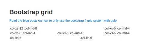 tutorial bootstrap gulp bootstrap 4 grid only and sass with gulp jonathanmh