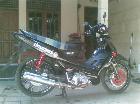 Shockbreaker Yss Buat Satria Fu kurniawan ed dreamer modif shogun nr