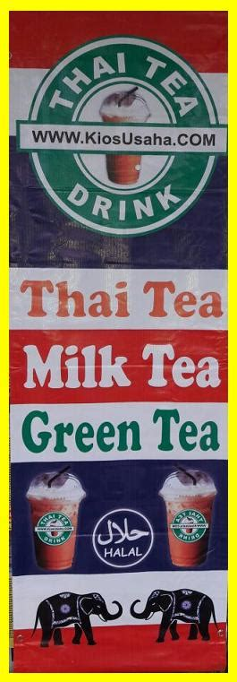Meja Thai Tea Es Thai Tea Peluang Usaha Modal Kecil