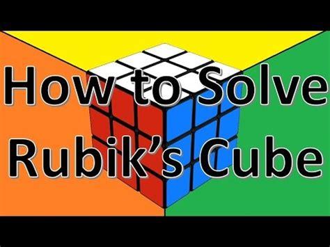 easiest 4x4 rubik s cube tutorial 4x4x4