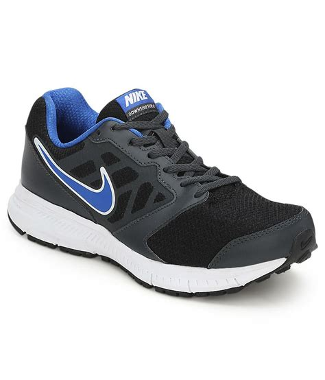 black sport shoes nike lace black sport shoes price in india buy nike lace