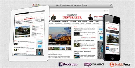 theme advanced newspaper advanced newspaper themesnap