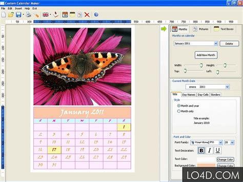 Custom Calendar Maker 7 Most Inspiring Calendar Software