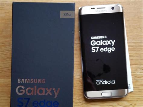 Murahhh Samsung Galaxy S7 Edge Gold Platinum samsung galaxy s7 edge gold platinum 32gb platinum gold