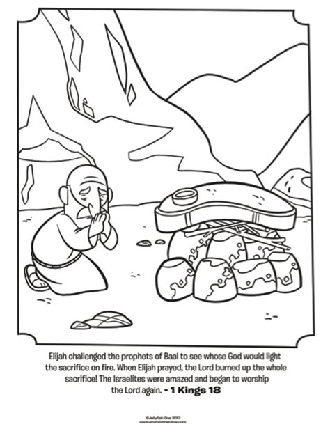 free bible coloring pages elijah elijah praying bible coloring pages what s in the bible