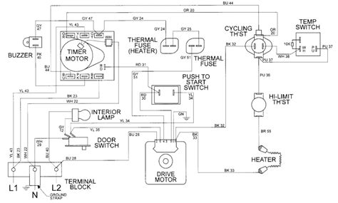 maytag performa wiring schematic electric oven schematic