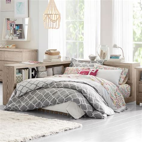 pottery barn teen headboard costa platform lounge bed set pbteen