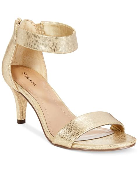 style co style co paycee two dress sandals only