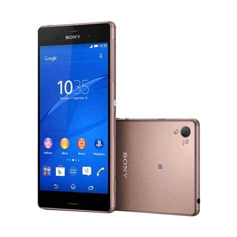 Jual Sony Xperia Z3 16 Gb jual sony xperia z3 d6653 lte smartphone copper 3 gb 16 gb harga kualitas