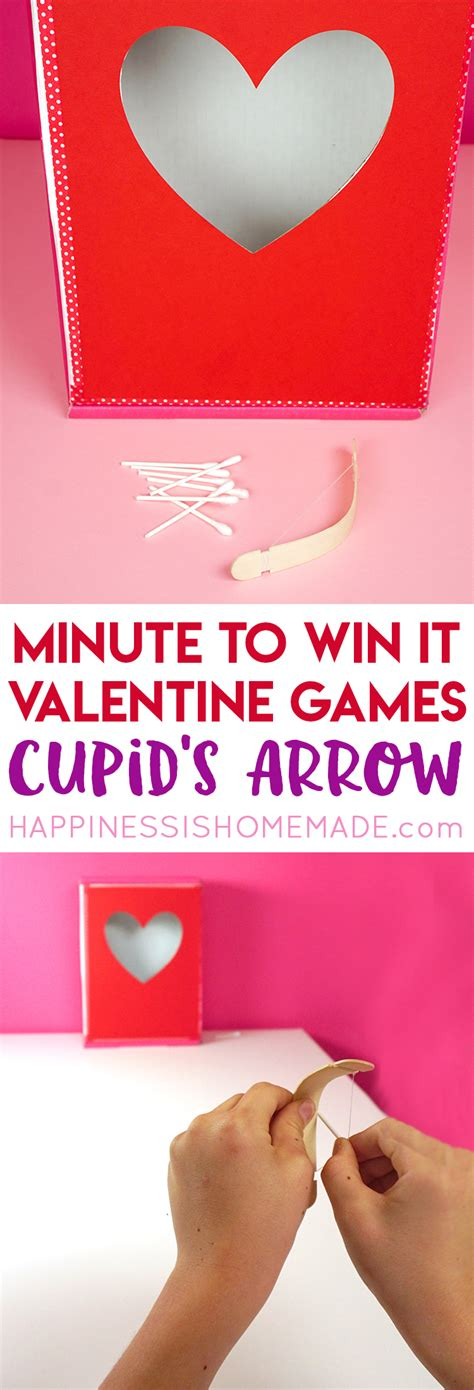 minute to win it valentines minute to win it happiness is