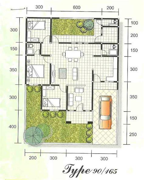 sketsa dan denah rumah minimalis type 90 sketsa denah desain rumah minimalis dan modern