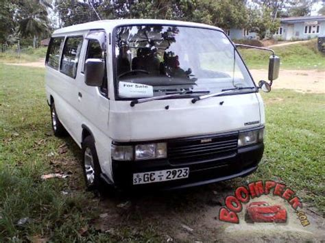 nissan sri lanka pin nissan caravan e24 van for sale in sri lanka ad id