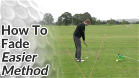 how to fix a fade in your golf swing golf ball flight diagram free online golf tips