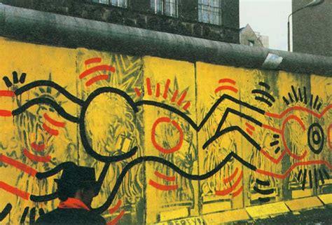 berlin wall murals lost keith haring tate