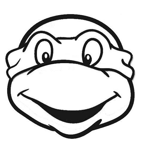 ninja turtle coloring page mask 4232 best images about cake templates on pinterest royal