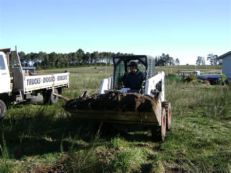 section clearing raymond dempsey s bobcat hire and landscape services