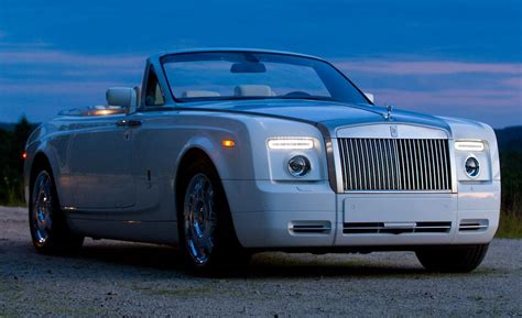 roll royce drophead car and driver