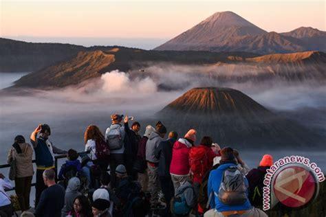 Rakyat Jawa Timur Jawa Gunung Bromo wisata gunung bromo foto antara news