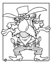 cowboy coloring pages cowboy coloring pages