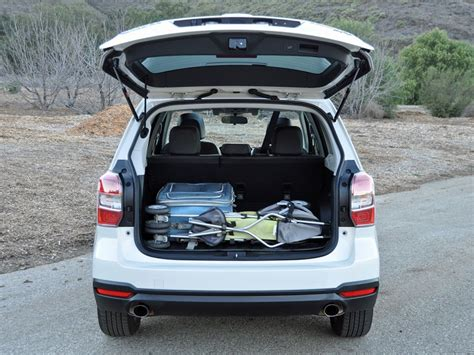 Subaru Forester Cargo Space Dimensions by Powersteering 2016 Subaru Forester Review J D Power Cars