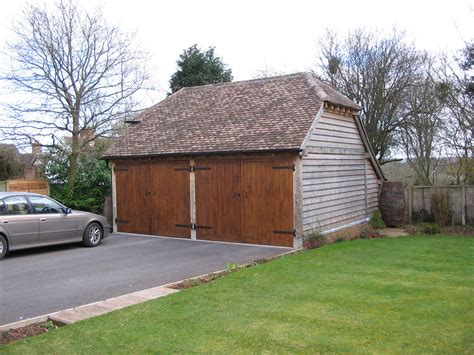 2 bay garage 2 bay garage wootton wawen shires oak buildings