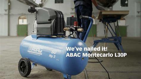 abac montecarlo l30p d4 air compressor from airsupplies