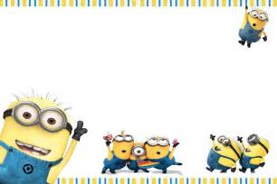 Minion Card Template by 40th Birthday Ideas Minion Birthday Invitations Templates