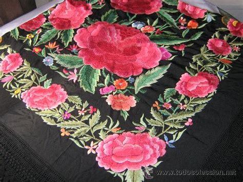 bordados eclesisticos antiguo mant 243 n de manila bordado a mano 2mx2m comprar