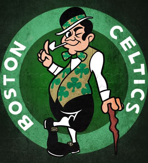 Boston Celtics how to draw the boston celtics step by step sports pop