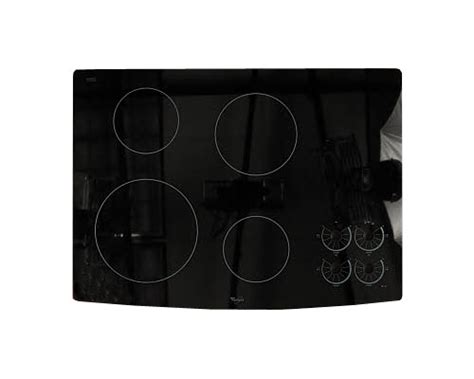 Glass Cooktop Replacement whirlpool rcc3024rb05 glass cooktop replacement genuine oem
