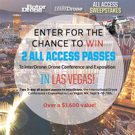 Last Chance Sweepstakes - last chance to enter the interdrone sweepstakes air age media