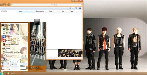 theme kpop gratis my kpop fanatik super junior sexy free single win 7