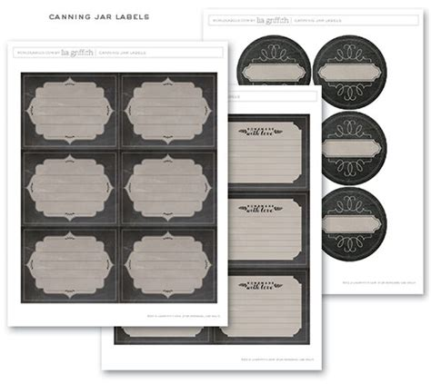 17 Best Images About Canning Jar Labels On Pinterest Jars Jam Label And Grape Jam Canning Jar Label Templates