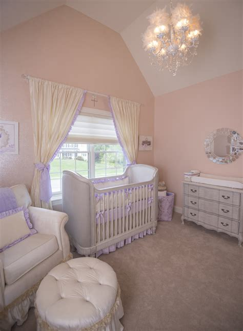 glitter wallpaper nursery princess nursery in lavender with glitter wall project